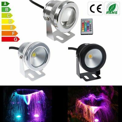 10W LED Underwater lamp AC12V-24V IP68 Waterproof Spot light Bulb Swimming Pool