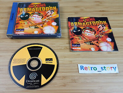 SEGA Dreamcast Worms Armageddon PAL