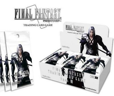 Final Fantasy TCG OPUS 3 III Factory Sealed 36 Count Factory Sealed Booster Box