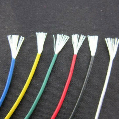0.2mm² 1.1mm Silver Plating Teflon Earphone Audio Cable Wire 300V -65°C~200°C TS