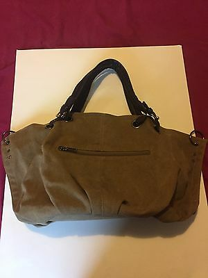 Ladies Bags Canvas Tote Shoulder Bag Khaki