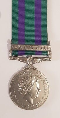 Full Size New 2008 GSM General Service Medal with Northern Africa Clasp