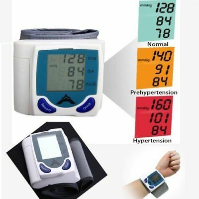 Digital LCD Wrist Blood Pressure Monitor With Heart Beat Rate Pulse Measure Y6