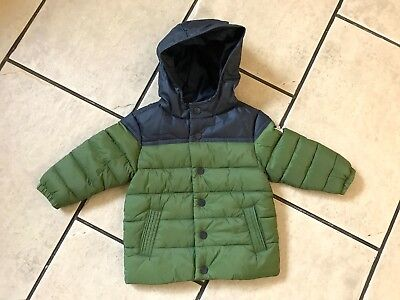 Baby Boys Hooded Next Padded Winter Coat - Bnwt - Age 9-12 Months