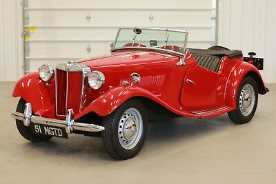 1951 MG T-Series  1951 MGTD Roadster*4-Spd Manual*Soft Top&Tonneau Cover*Same Owner Last 52 Years!