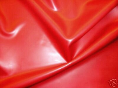 Latex Rubber Sheet, .33mm Thick, 2m x 2.5m, 78 x 97 inches Red, Slight Seconds