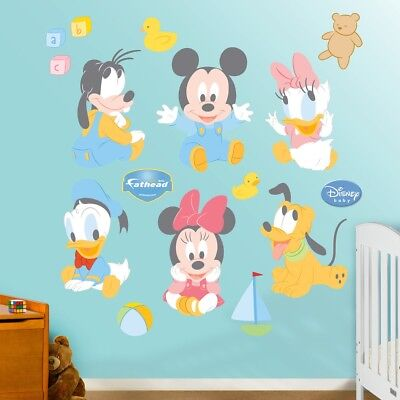 Disney Baby Mickey Mouse and Friends Wall Decals by Fathead