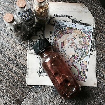 Come to Me Oil Powerful Love Ritual Organic.5oz Attraction Romance Hoodoo Wicca