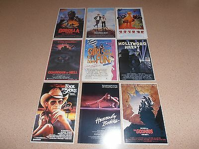 Movie postcards