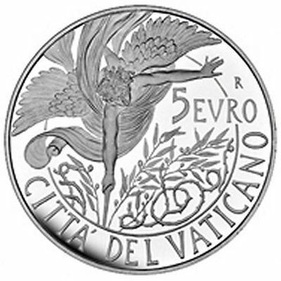 "2016 Vatican 5 Euro Silver Proof Coin ""World Day of Peace"""