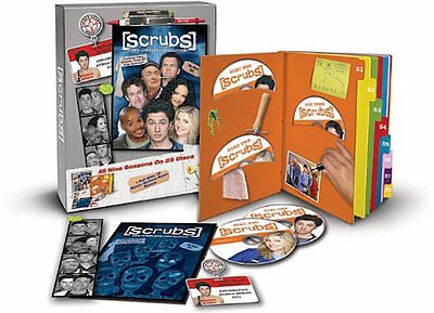 Scrubs Complete Series Collection 26 DVD Seasons 1 2 3 4 5 6 7 8 DVD Set TV Show