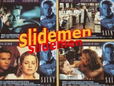 THE SAINT - 11x14 US Lobby Cards Set - Val Kilmer, Elisabeth Shue, Phillip Noyce