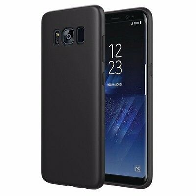 Samsung Galaxy S8 Black HARD Case Cover IPhone Nokia