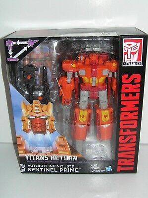 Transformers Sentinel Prime Generations Titans Return Voyager Class Hasbro JH
