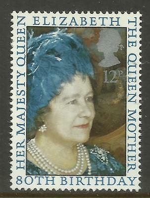 GREAT BRITAIN 1980 80th Birthday QUEEN ELIZABETH QUEEN MOTHER 1v MNH
