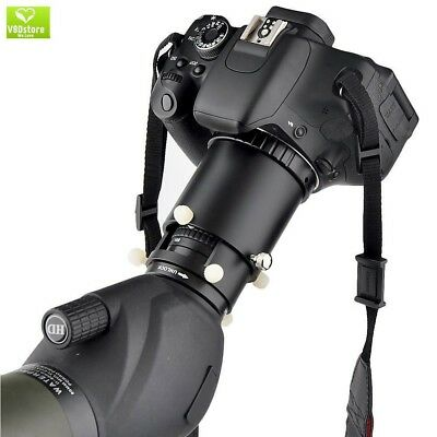 Spotting Scope Camera Adapter for DSLR Camera - Connect your Camera to Spotting