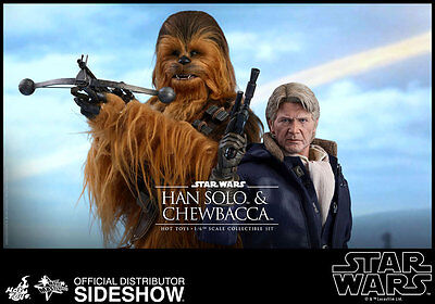 Han Solo & Chewbacca 1/6 Movie Masterpiece Actionfiguren Set Star Wars Hot Toys