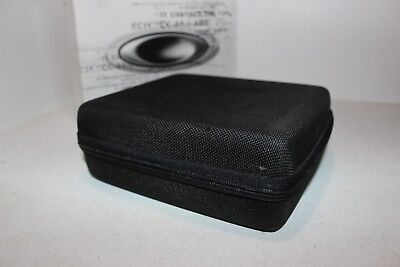 Used OAKLEY Black WATERJACKET ZIP AROUND CASE WITH BOX