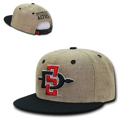 "Cap BK New Era 59Fifty SDSU San Diego State Aztecs /""Blackout/"" 2017 Fitted Hat"