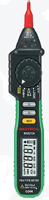 MS8212A Mastech Pen Type Multimeter Digital Stift-Design AC DC Ohm Auto-Ranging