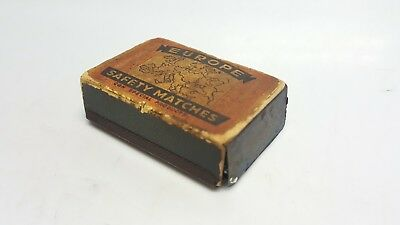 Alte Metall Streichholz Dose Box Europe Safety Matches CQN Special Products (22)