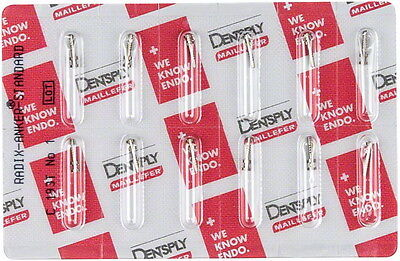 Radix Anker Titan Standard Dentsply. Assorted Refill. 36 Units Total.