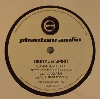 "DIGITAL & SPIRIT - Phantom Force (Fracture Remix) Vinyl (12"") Drum And Bass"