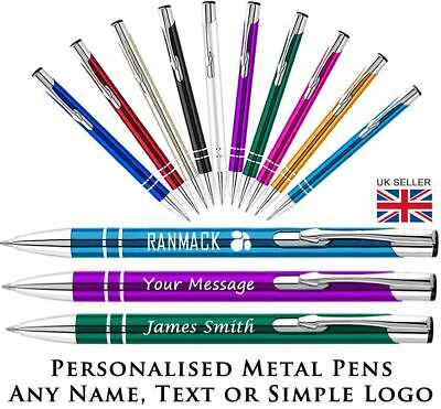Promotional Pens - Personalised Engraved Eleem Metal Ballpoint Pen