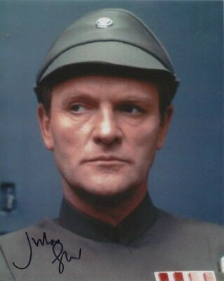 Julian Glover In Person Signed Photo - Star Wars - AG501