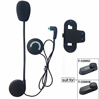 FreedConn Microphone Headphone Hard Cable Headset & Clip Accessory for T-COMVB