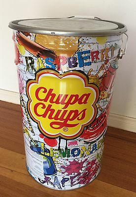Empty Chupa Chups Tin with Lid - Excellent Condition