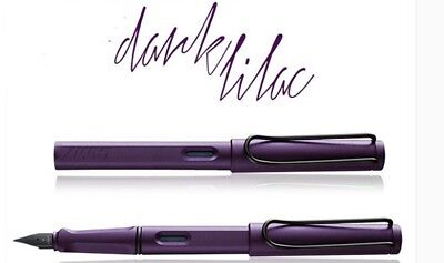 Lamy Safari Special LILAC Pen School Business Office Fountain Pen Mutil- Color