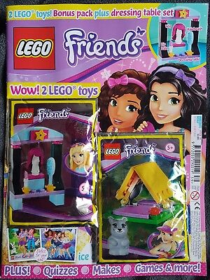 LEGO Friends issue  39   30 Aug-3 oct With free gifts