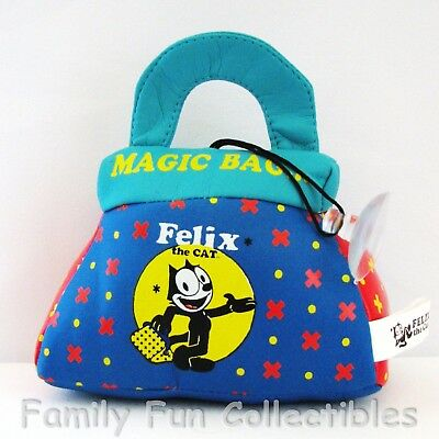 FELIX THE CAT~1990s Good Stuff Hanging Novelty~Bag of Tricks~Suction Cup Toy~NEW