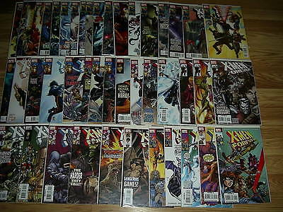 X-MEN FOREVER 1-24 COMPLETE SET Annual 1 Marvel 2 1-16 Claremont Full Run Lot