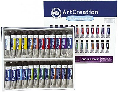 Art Creation Gouache 24X12Ml