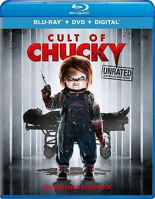 CULT OF CHUCKY - BLU RAY- Sealed Region free