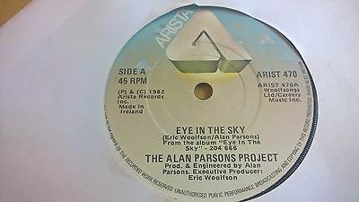 "THE ALAN PARSONS PROJECT - Eye In The Sky - IRISH PRESSING 7"" IRELAND 1982"