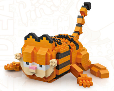 Garfield Lie Down LOZ BLOCK Mini Building Lego Block Nanoblock iBlock a F01