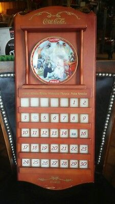 Coca Cola Days Calendar with 10 Plates and Accesories