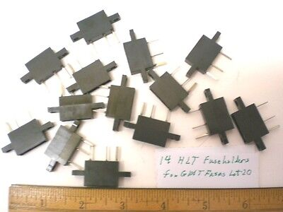 14 HLT Fuseholders for GMT Fuses, 15A  125V  BUSSMANN, Lot 20, Made in USA