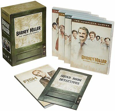 Barney Miller Complete Series Seasons 1 2 3 4 5 6 7 8 DVD Set TV Show Collection