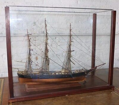A Model Of A Three-masted Ship - Flying Cloud New York