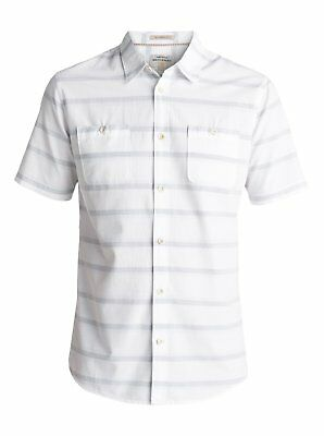 Quiksilver™ Waterman St Vincent - Short Sleeve Shirt - Men - XXL - White