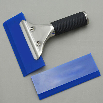 Blue Rubber Vinyl Squeegee & PRO Handle for Car Film Window Tinting Tools Kits