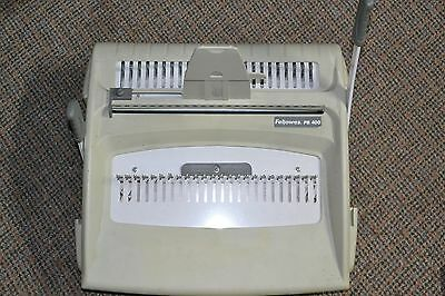 Fellowes PB400 Punch Comb Binding Combo Machine