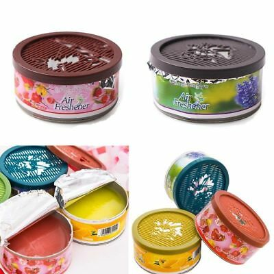 Solid Scent Indoor Auto Car Home Bath Office Deodorizing Air Freshener Fragrance