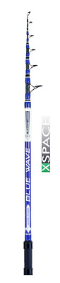 COLMIC BLUE WAVE - High End Carbon Telescopic Beach Surf and Ledgering Rods- ...