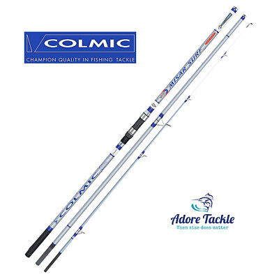 New COLMIC MISAR SURF 4.20m (100-250g) - HIGH QUALITY CARBON SURF ROD