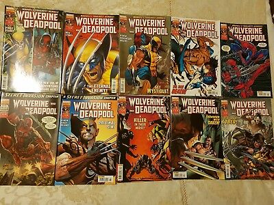 Wolverine and Deadpool (Volume 2 - X-Force) - UK Comic - 45 Issues
